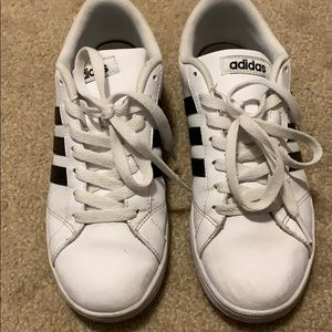 adidas Shoes - Adidas white and black shoes!
